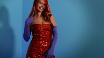Bailey Knox Jessica Rabbit Cosplay 4