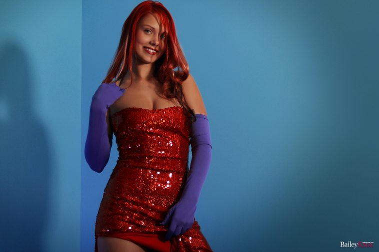 Bailey Knox Jessica Rabbit Cosplay 4