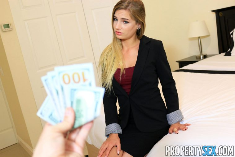 Property Sex Sydney Cole in Blonde Real Estate Agent Wants to Fuck 6