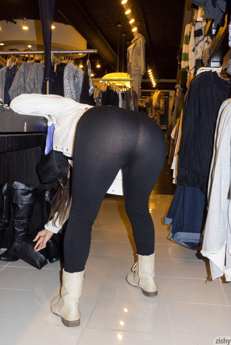 Zishy Caroline Ray Yoga Pants 3