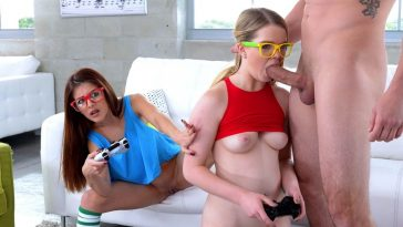 Teens Love Huge Cocks Vanessa Phoenix in Nerdy Gamer Hotties 7