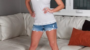 Nikki Sims Shorts and Tank top 1