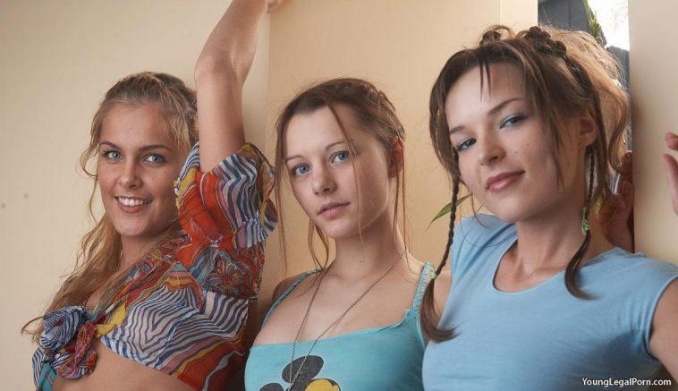 Young Legal Porn - Three Sexy Lesbians 1