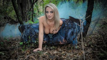 Nikki the evil fairy in the woods 1