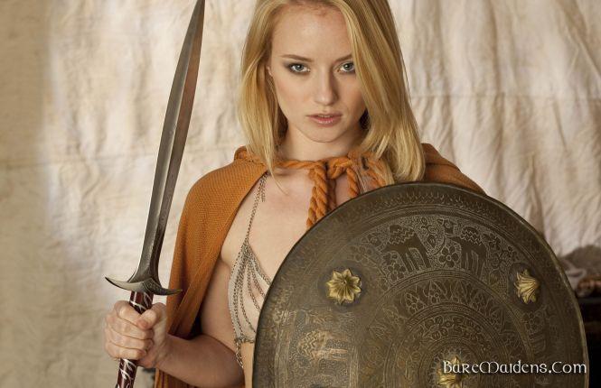 Bare Maidens Gladiator Tease 4