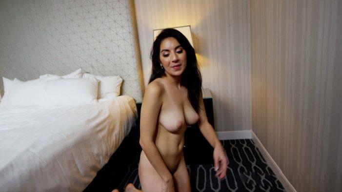 Girls Do Porn Pretty Brunette Green Dress - Sexy Now Nude -7917