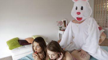 Bratty Sis Creampie Surprise with Alex Blake & Lily Adams 10