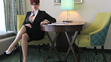 Kayla Kiss Busty Secretary 1