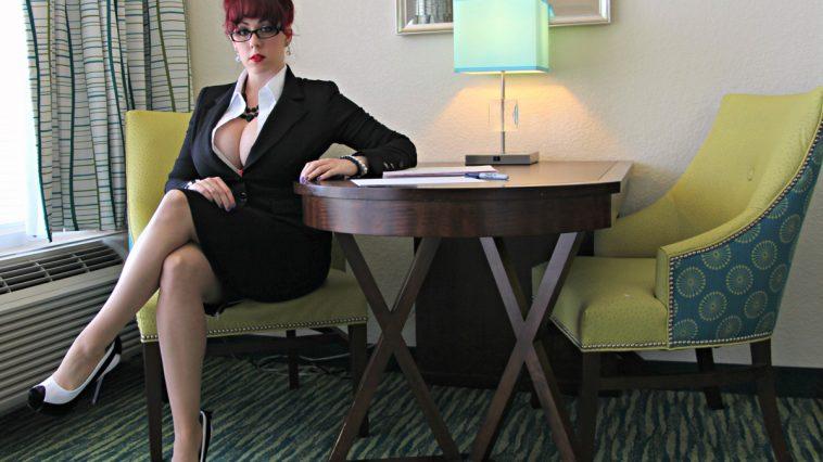Kayla Kiss Busty Secretary 1