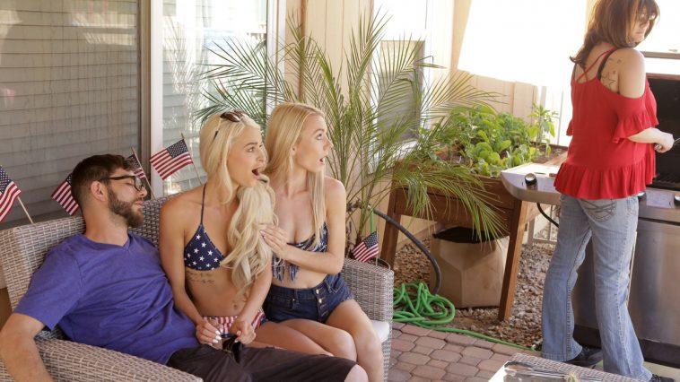 Bratty Sis Emma Hix Molly Mae in Fucking For Fourth of July 12