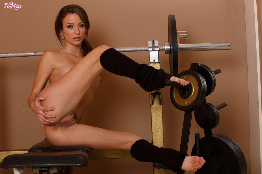 Malena morgan leg warmers nude