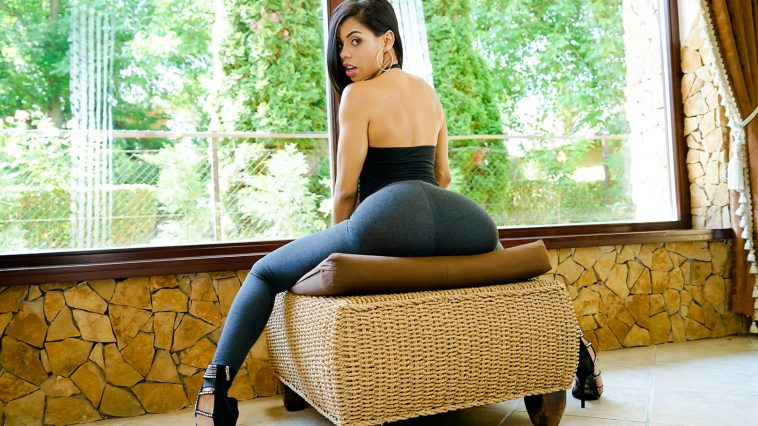 Sexy Latina Canela Skin Shows Us Her Positions 2