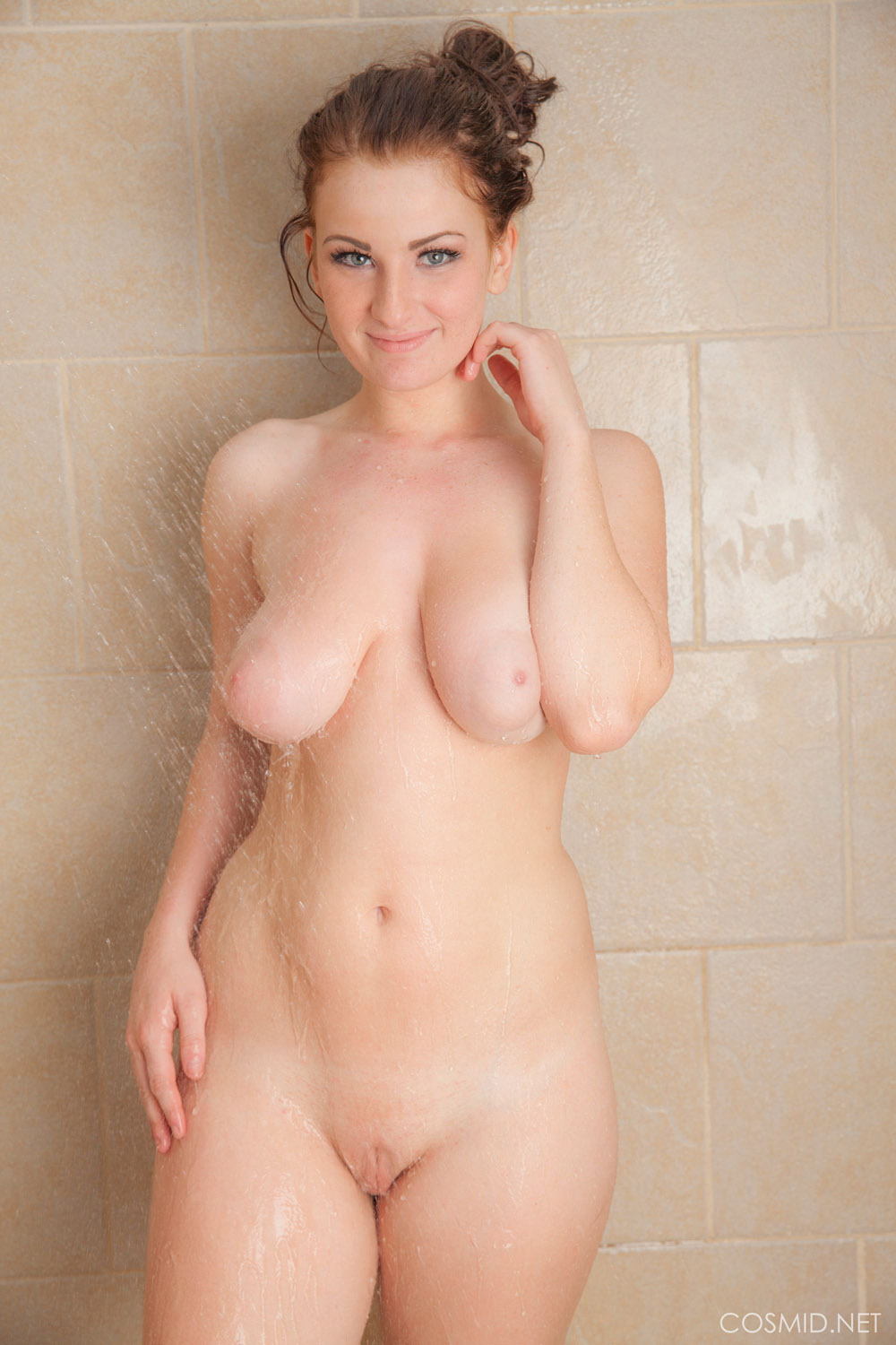 Nudist shower