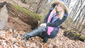meet madden strip tease in the woods 4