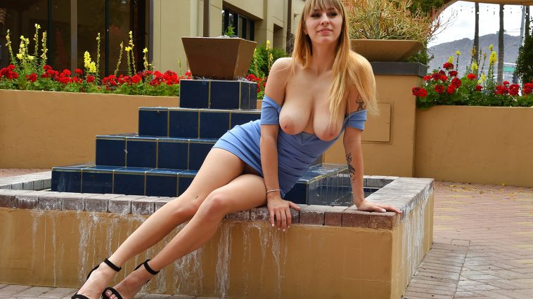 angel youngs blue dress 8